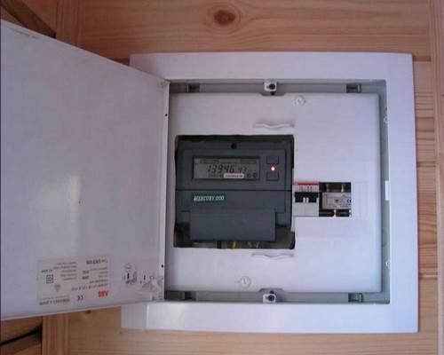принципы установки электросчётчика