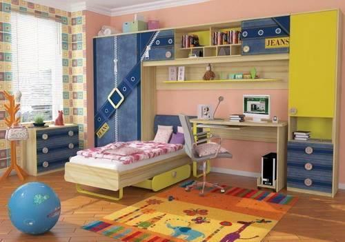 Особенности детской мебели