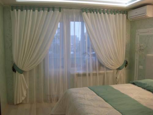 Идеи штор в спальню