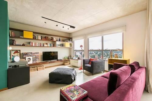 Детали в дизайне квартиры-распашонки