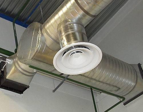 Как устроена система воздуховода