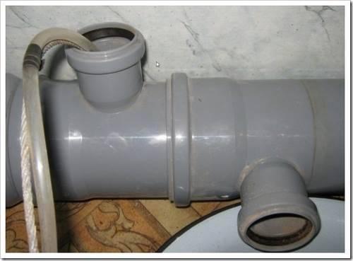 Внутренняя и внешняя части канализационной сети