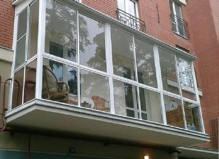 Как остеклить балкон своими руками