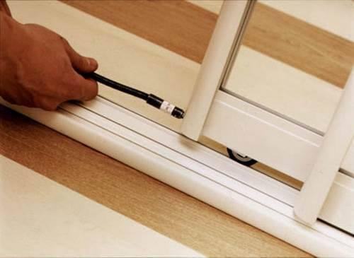 Как отрегулировать двери шкафа купе