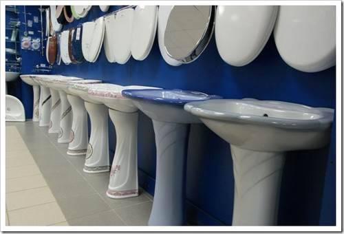 Разнообразие сантехники