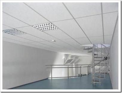 Принцип монтажа подвесных потолков