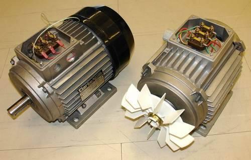 Виды асинхронных электродвигателей