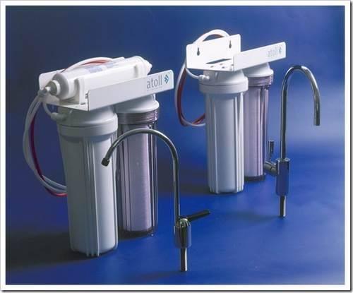 Установка фильтра для воды на водопровод