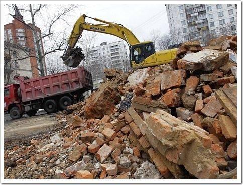 Продажа строительного мусора в качестве щебня