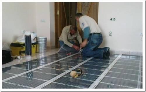Монтаж электрического отопления частного дома