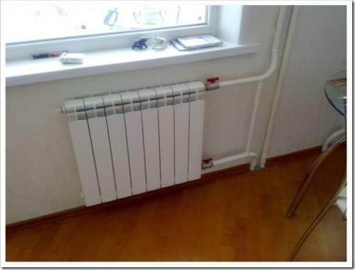 Принципы монтажа радиаторов
