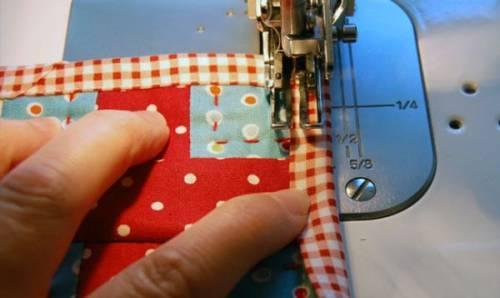 Как сшить стильное одеяло