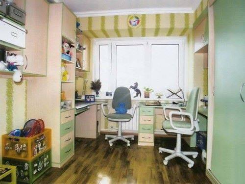 Как расположить мебель в детской