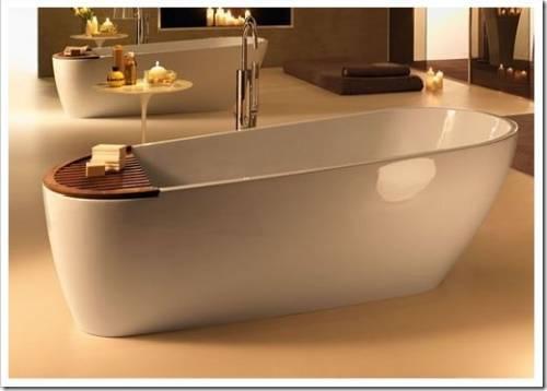 Ванна из литьевого мрамора