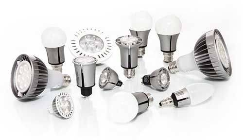 Классификация светодиоидных ламп