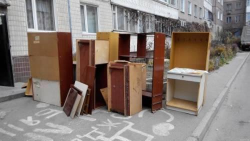 Как вывезти старую мебель