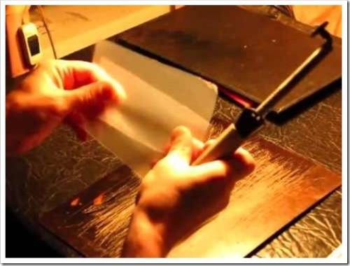 Использование утюга для пайки полиэтиленовой плёнки