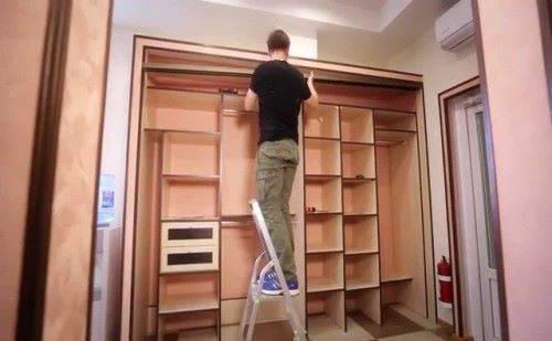 Как сделать шкаф купе