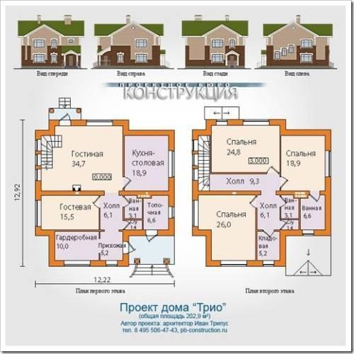 Критерии выбора проекта для строительства дома