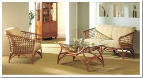 Положительные стороны мебели из ротанга