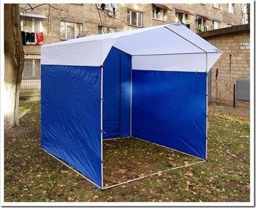 Преимущества использования торговой палатки