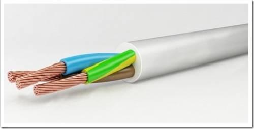 Сечение кабеля и изоляционная оболочка
