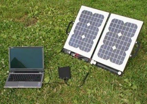 компьютер работает от солнечных батарей