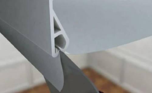 Натяжные потолки: как их можно прикрепить