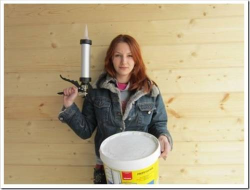 Идеальный герметик для древесины
