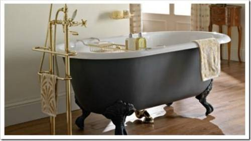 Форма чугунной ванны