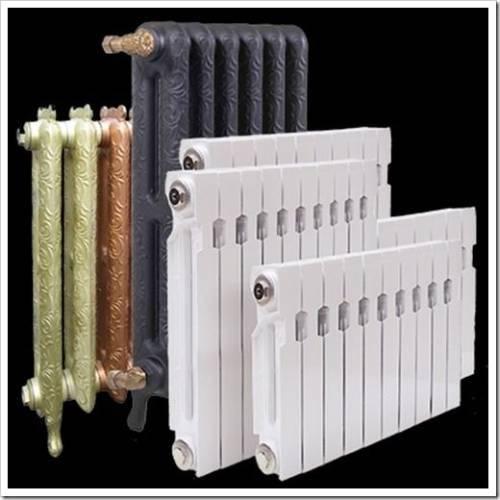 Выбор подходящих радиаторов отопления
