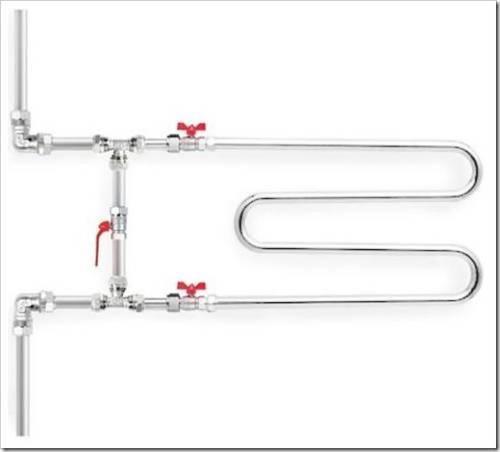 Какие трубы выбрать для подключения полотенцесушителя
