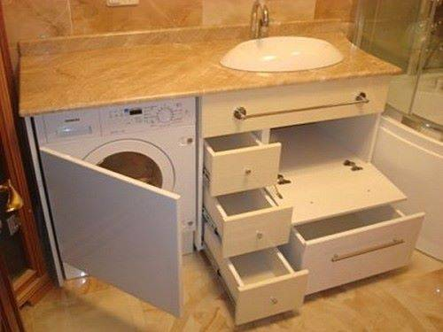 Мебель для ванной своими руками с