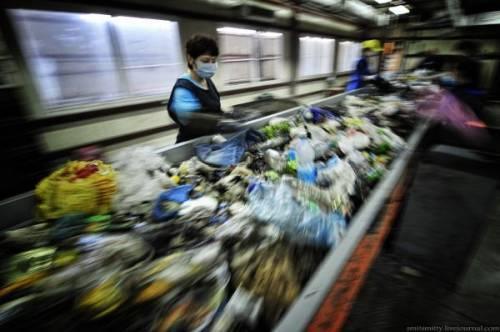 Как перерабатывают мусор