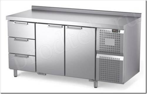 Принцип работы холодильного стола