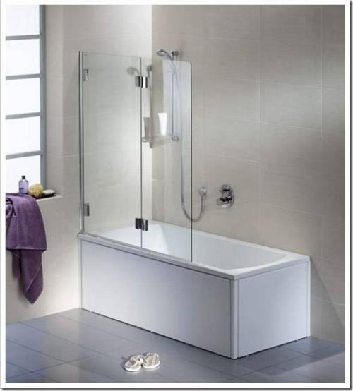 Смеситель с душем – самый простой вариант