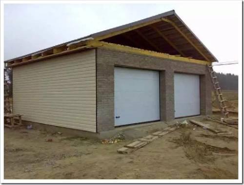 Какой строительный материал лучшим образом подойдёт для строительства гаража?