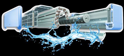 течет вода из кондиционера