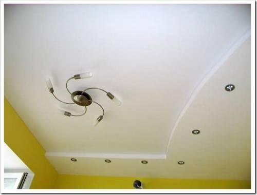 Дальнейшая отделка потолка