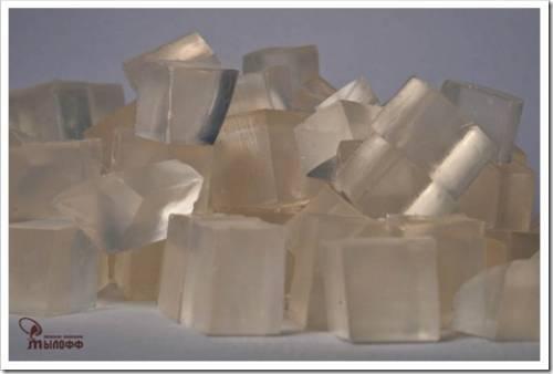 Процесс приготовления мыла
