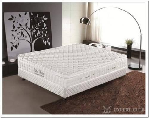 Матрас для двуспальной кровати с независимыми блоками