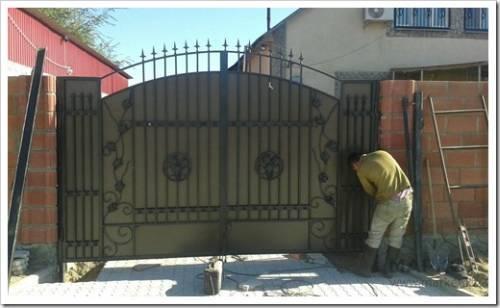 Как самостоятельно демонтировать ворота