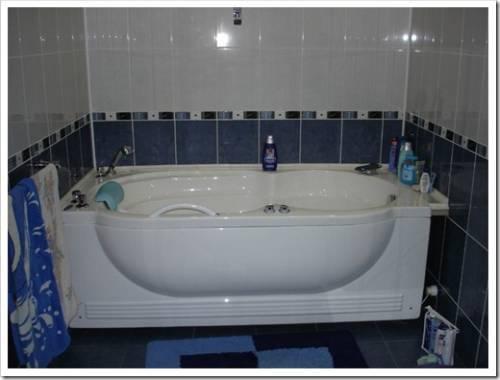 Выбор места для расположения ванны