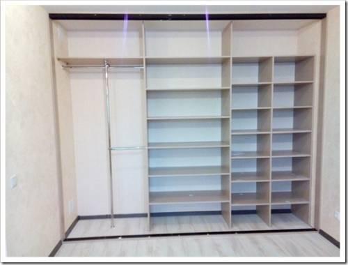 Место, куда следует вписывать шкаф