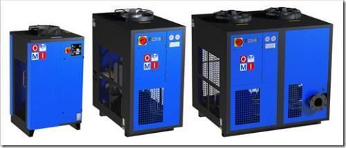 Принцип работы рефрижераторного осушителя воздуха