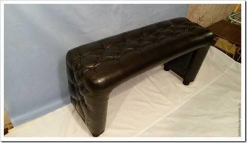 Создание мягкого сидения