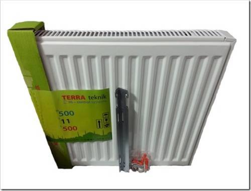 Стальные радиаторы TerraTeknik