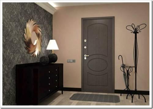 Отделка входной двери для квартиры