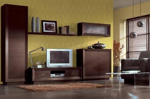 С какими цветами сочетается мебель венге