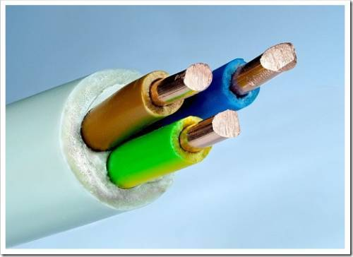 Распространённые виды изоляционных покрытий для силовых кабелей